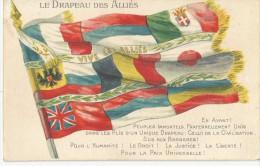 LE DRAPEAU DES ALLIES - Patriotic