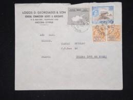CHYPRE - Enveloppe En Recom. Pour La France En 1960 - A Voir - Lot P12339 - Chypre (République)