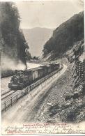 DAVOS  Bahn Landquart  In Der Klus -train Vapeur TTBE  Timbrée - GR Grisons