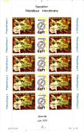 OBERVOLTA - HAUTE VOLTA - 1979 - **/MNH - PHILEXAFRIQUE 2 - FULL SHEET - BOGEN - Haute-Volta (1958-1984)