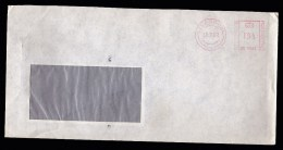 UK: Window Cover, 1982, Red Meter Cancel, Consulate General Of Germany In Liverpool (traces Of Use) - 1952-.... (Elizabeth II)