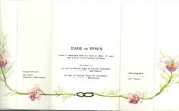 Huwelijksaankondiging 27 Maart 1981 Stekene. - Boda