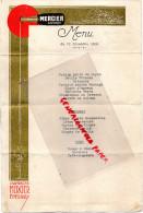 51 - EPERNAY - MENU CHAMPAGNE MERCIER - 1933  MARIAGE JULIEN PATRY - Menus