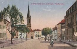 CPA CHATEAU SALINS (Moselle) - Nanzigstrasse - Chateau Salins