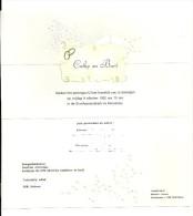 Huwelijksaankondiging 9 Oktober 1992 Moerbeke. - Boda