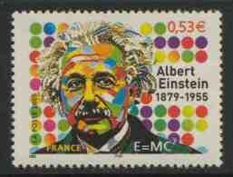 France Rep. Française 2005 Mi 3930 YT 3779 ** Albert Einstein (1879-1955) German Physicist + Nobel Prize 1921 - Albert Einstein