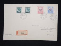 BOHEME ET MORAVIE - Enveloppe En Recommandée De Zlin En 1942 - A Voir - Lot P12352 - Lettres & Documents