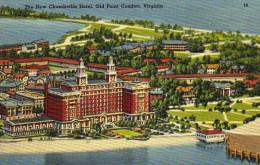 The New Chamberlin Hotel,Old Point Comfort, Hampton, Virginia - Hampton