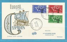 FDC .. EUROPA CYPRUS... VOIR / LOOK / ZIE SCAN .... SUPER SALE !!!  ..  ENV139 - 1975