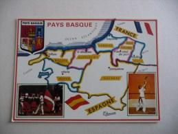 PAYS BASQUE : Les 7 Provinces - Frankrijk
