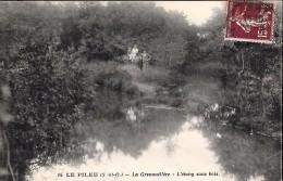 CARTE POSTALE ORIGINALE ANCIENNE : LE PILEU MASSY ; LA GRENOUILLERE ; L'ETANG SOUS BOIS ; ANIMEE ; ESSONNE (91) - Massy