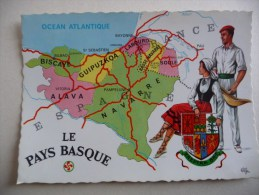 PAYS BASQUE : Les 7 Provinces - Francia