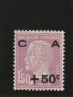 France _Caisse Amortissement_ 1F50 Pasteur Surchargé +50_  Neuf - Caisse D'Amortissement