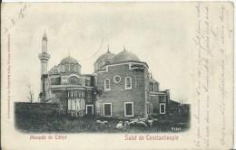 TURQUIE -SALUT DE  CONSTANTINOPLE -Mosquée De Tétyé ( Poste Russe ) - Turchia