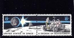 USA - 1971 - **/MNH - SPACE  - Mi 1046/7 - Sc 1434/35 - Estados Unidos