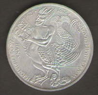 GERMANIA 5 MARCHI 1976 300 Th ANNIVERSARY DEATH OF VON GRIMMELSHAUSEN AG SILVER - [ 7] 1949-… : RFA - Rep. Fed. Tedesca