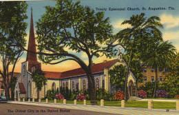 Trinity Episcopal Church. St. Augustine, Florida - St Augustine