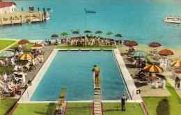 Swimming Pool, Chamberlin Hotel,Old Point Comfort, Hampton, Virginia - Hampton