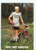 Noël VAN CLOOSTER, Autographe Manusrit, Dédicace. 2 Scans. Ijsboerke Bertin 1973 - Cycling
