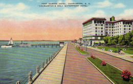 "Fort Sumter Hotel,Charleston "" Charleston's Only Waterfront Hotel"" - Charleston"
