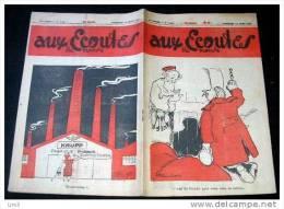 AUX ECOUTES Du Monde. 1953. N. 1494. PAS DE PARADIS POUR VOUS