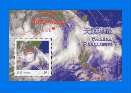 HK 2014-0010, Weather Phenomena, S/S MNH - 1997-... Chinese Admnistrative Region