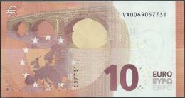 10  EURO DRAGHI  SPAGNA  VA  V001 C3   UNC - 10 Euro