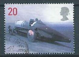 GROSSBRITANNIEN GRANDE BRETAGNE GB 1998 Sir Malcolm Campbell's Bluebird, 1925  20p SG 2059 SC 1829 MI 1767 YV 2056 - Used Stamps