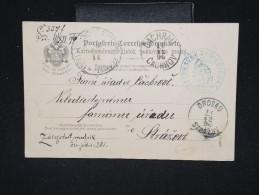 POLOGNE - Entier Postal De Cracovie En 1896 - A Voir - Lot P12373 - ....-1919 Gouvernement Provisoire