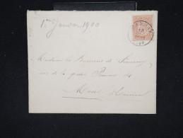 BELGIQUE - Enveloppe De Manhay Pour Mons En 1899 - A Voir - Lot P12375