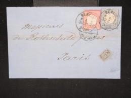 ALLEMAGNE -  Lettre ( Avec Texte ) De Berlin Pour La France En 1874 - A Voir - Lot P12382