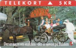 Denmark, KP 078, Bakken, Horse, Mint, Only 3.000 Issued, 2 Scans.  Please Read. - Denmark