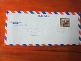 NIUE  LOTE DE 25 SOBRES DIFERENTES ALL WITH STAMPS ALL OFFICIALS