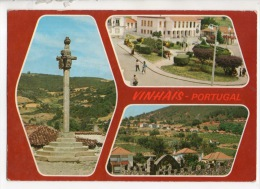 PORTUGAL . VINHAIS . PELOURINHO . VUE PANORAMIQUE . MULTI-VUES - Réf. N°12039 - - Bragança