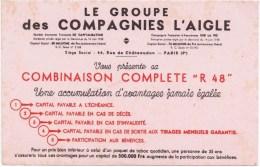 Buvards  Le GROUPE DES COMPAGNIES L AIGLE - C