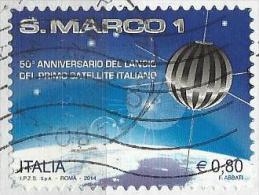 Italia 2014, Satellite S. Marco (o) - 6. 1946-.. Repubblica
