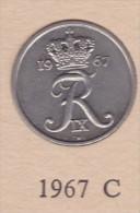 Denmark, 10 Øre, 1967 C.  Copper-Nickel - Dänemark