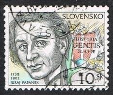 2002 - SLOVACCHIA / SLOVAKIA - PERSONAGGI FAMOSI - PAPANEK. USATO - Slovakia