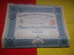 ARMATEURS NANTAIS Pour Developpement Marine A Vapeur Et A Voile (1921) NANTES - Shareholdings