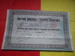 ABATTOIRS ET ENTREPOTS FRIGORIFIQUES (pont Rousseau Les Nantes-LOIRE ATLANTIQUE) - Non Classificati