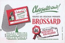 Buvards   BISCUITS BROSSARDS - Buvards, Protège-cahiers Illustrés