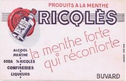 Buvards  RICQLES - Buvards, Protège-cahiers Illustrés