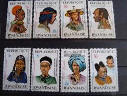 Rwanda 1973 African Fortnight Mint SG 563-70 Sc 550-7 - 1970-79: Nuovi