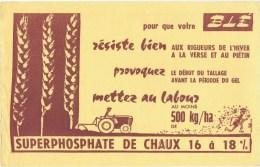 Buvards  Superphosphate De Chaux - Buvards, Protège-cahiers Illustrés