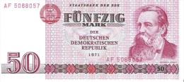Germany Dem.Rep. - Pick 30 - 50 Mark 1971 - Unc - [ 6] 1949-1990 : GDR - German Dem. Rep.