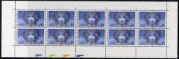 SLOVAKIA 1999 Council Of Europe Sheetlet  MNH / **.  Michel 339 - Blocks & Sheetlets
