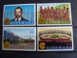 Botswana 1983 Commonwealth Day Mint SG 537-40 - Botswana (1966-...)