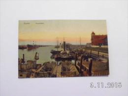 Emden. - Aussenhafen.(23 - 8 - 1910) - Emden