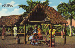 Seminole Indian  Village In Florida - United States