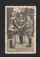 Dt. Reich AK Der Führer Mackensen Blomberg - Personaggi Storici